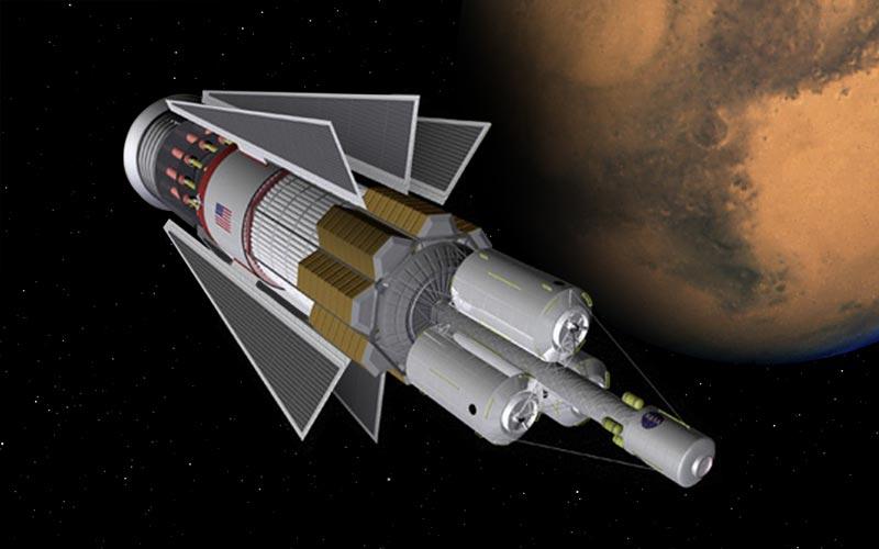 الدفع النووي.. الطريقة الواقعية الوحيدة لإرسال البشر إلى المريخ - نقل البشر إلى المريخ والعودة - التخطيط لبعثات إلى الكوكب الأحمر
