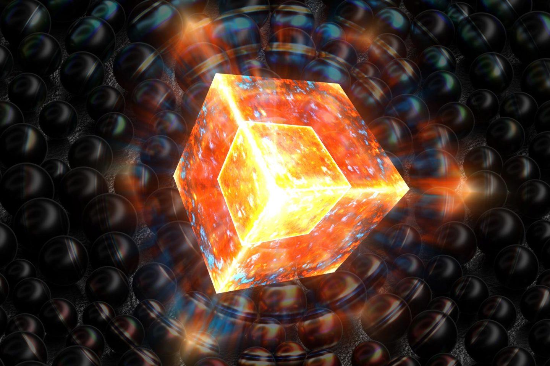 بلورة كمومية قد تكشف هوية المادة المظلمة