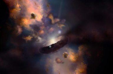 قد يساعد فناء نجم في الكشف عن الأصول المحيرة للثقوب السوداء - ثقب أسود جائع قد يكشف أصل عمالقة الفضاء - الأصول المحيرة للثقوب السوداء