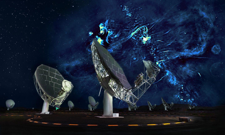 هذا ما سيبدو عند مشاهدة مركز مجرة بواسطة أشعة الراديو