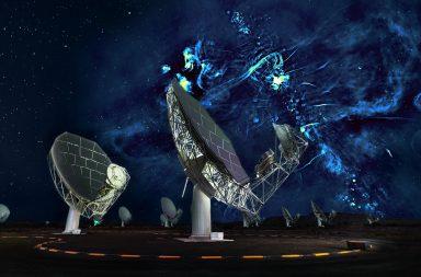 هذا ما سيبدو عند مشاهدة مركز مجرة بواسطة أشعة الراديو - إيجاد بقايا النجوم فائقة الكتلة الميتة التي كانت مجهولة - راديو تلسكوب للترددات الكبيرة