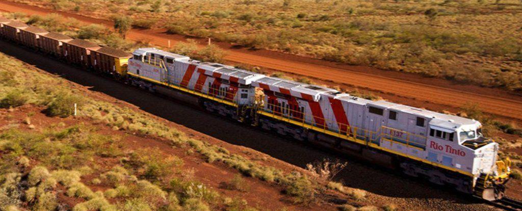 القطار الاسترالي الآلي أكبر روبوت في العالم
