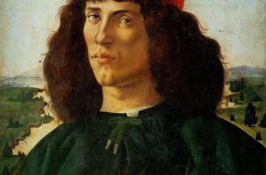 الفنان الإيطالي ساندرو بوتشيللي الذي عاش في بدايات عصر النهضة واسمه الحقيقي أليساندرو دي ماريانو فيليبي - الرسام الذي تميز بلوحات المذبح