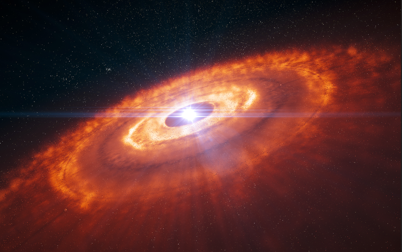 اكتشاف أصغر بنى لكواكب يافعة