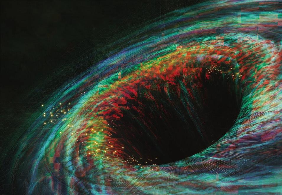 استخدام صدى الثقوب السوداء لصنع خريطة للكون