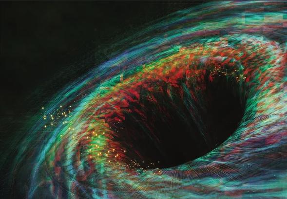 نجم استطاع النجاة من التهام ثقب أسود عملاق - سلوك نفثات أشعة إكس الغريبة الصادرة من الثقب الأسود - الفرار من ثقب أسود - مدار الثقب الأسود