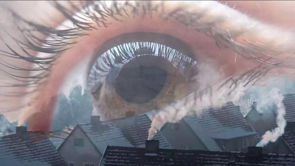 ارتباط تلوث الهواء بفقدان البصر التدريجي الذي قد يصبح دائمًا