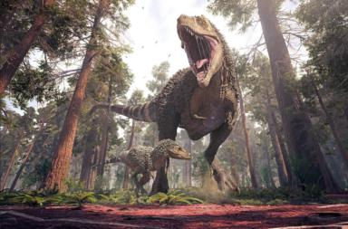 لماذا كانت الديناصورات إما ضخمة وإما قزمة على عكس الحيوانات الحديثة إليكم التفسير - اختلاف أحجام الديناصورات - الديناصورات العملاقة - الميغاثيروبود