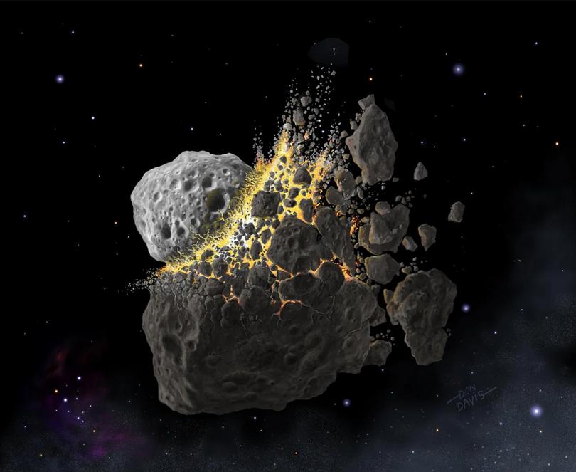 العثور لأول مرة على مواد عضوية ضرورية للحياة على سطح كويكب