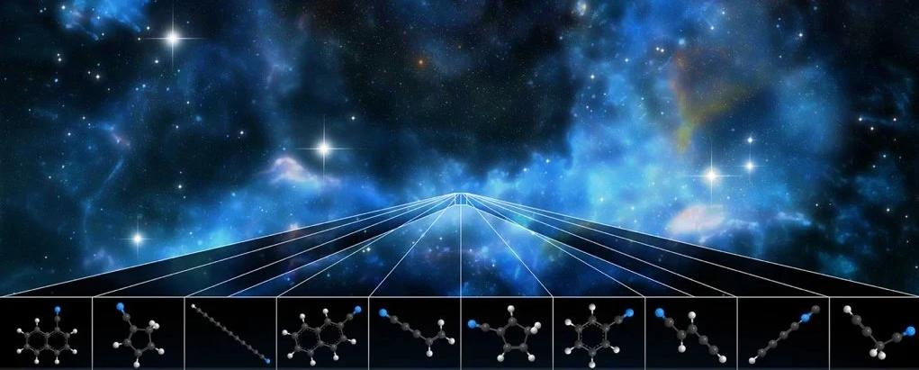 اكتشاف جزيئات لم تحدد في الفضاء من قبل - وجد العلماء مجموعة جزيئات لم تسبق رؤيتها من قبل في الفضاء - الهيدروكربونات العطرية متعددة الحلقات