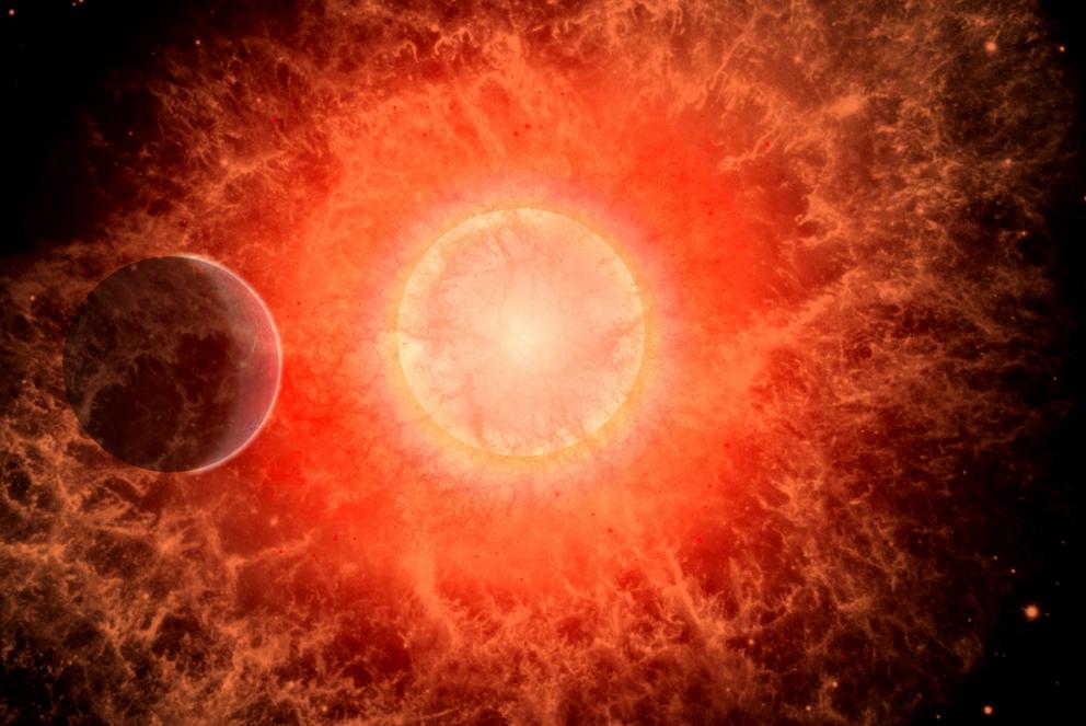 انفجار مستعر أعظم ربما أدى إلى انقراض جماعي على الأرض