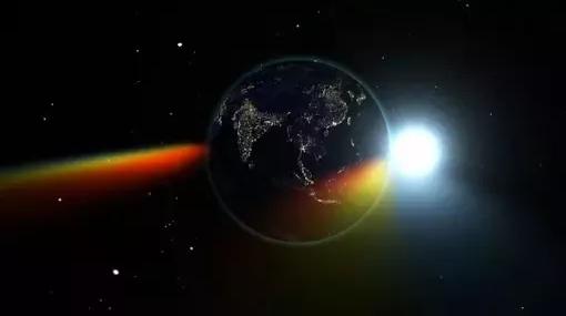 توزيع الطاقة على القمر قد يكون مجرد ثني لأشعة الشمس