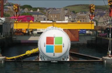وضع مركز بيانات تحت سطح الماء - لماذا تخطط شركة مايكروسوفت لنقل مراكز بياناتها إلى تحت سطح الماء؟ تحسين كفاءة الحوسبة السحابية