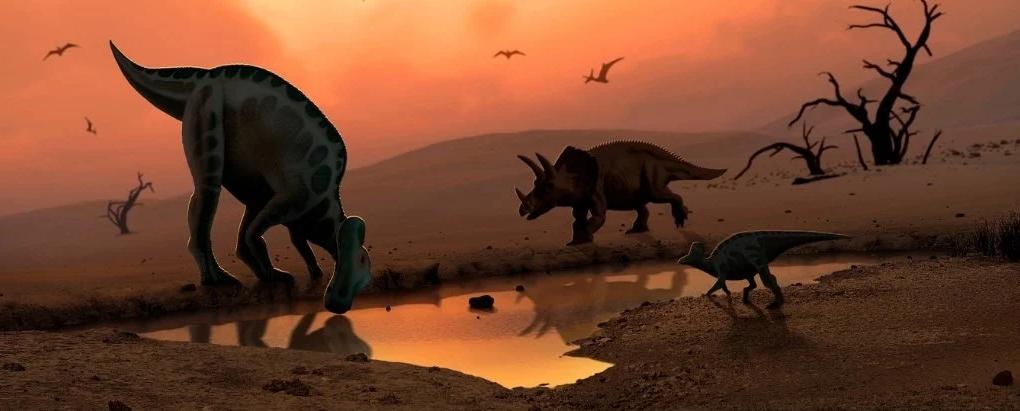 هل كان نيزك سبب انقراض الديناصورات أم أنها كانت مهددة بالانقراض حتى قبل سقوطه؟ - هل تسبب نيزك في إنهاء وجود أكثر الحيوانات البرية هيمنةً على كوكبنا؟
