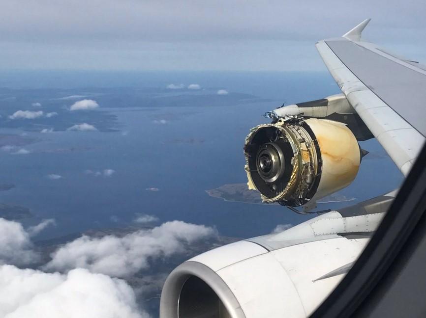 إلى أي مدى يمكن للطائرة التحليق إذا تعطّلت محركاتها؟