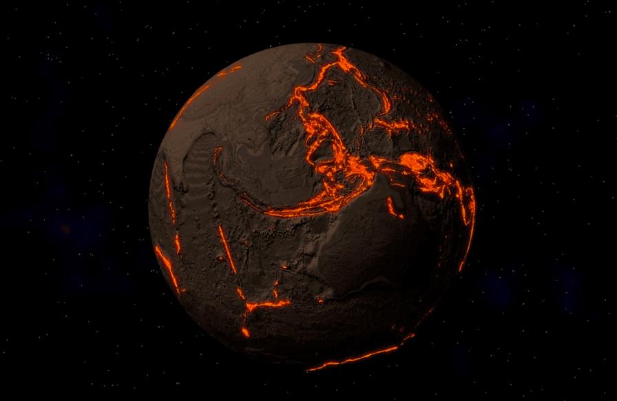 الأرض تبتلع محيطاتها