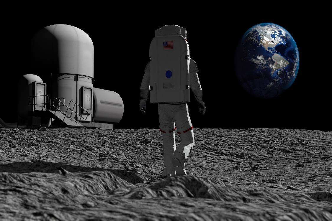 رواد الفضاء يصنعون الإسمنت باستخدام البول