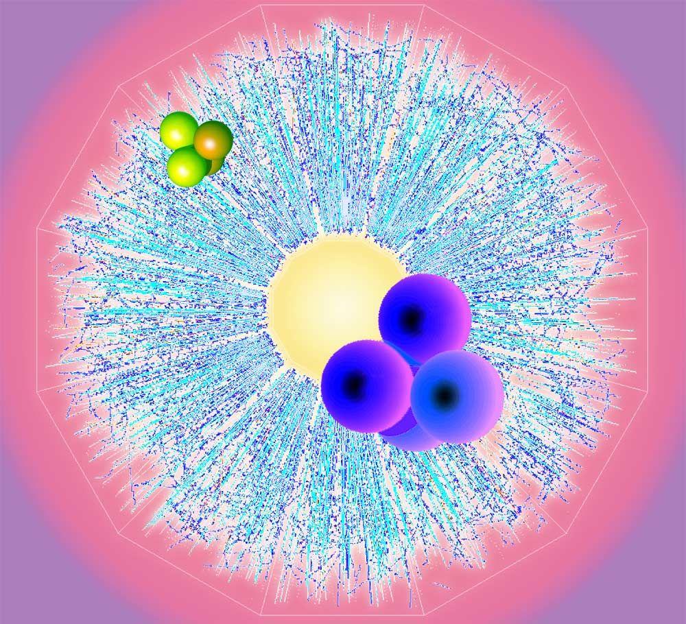 تجربة علمية تجد خليطًا من المادة والمادة المضادة داخل البروتون