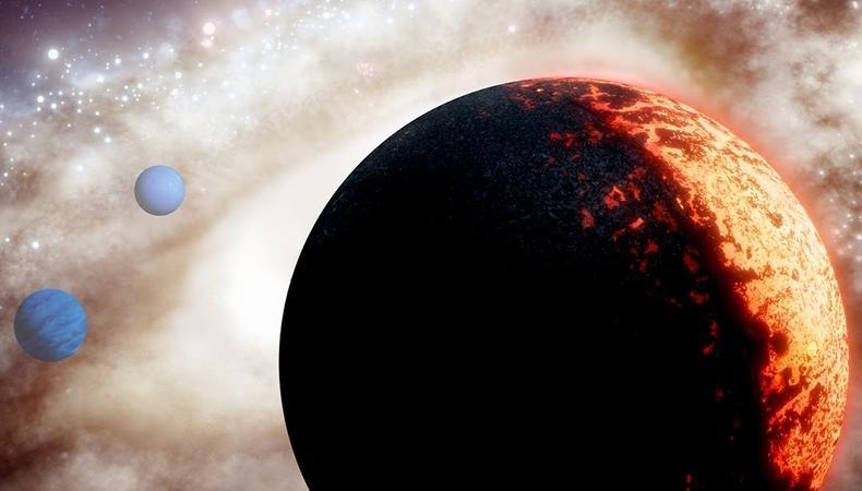 العثور على كوكب خارجي أضخم من الأرض بعمر الكون