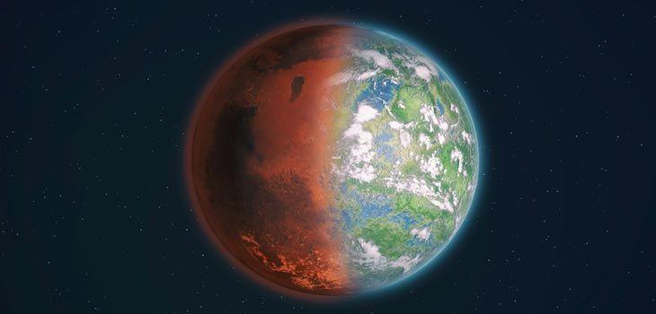 مادة عجيبة قد تكون المفتاح لتكوين الحياة على المريخ