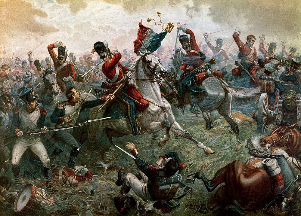 معركة واترلو: نهاية نابليون