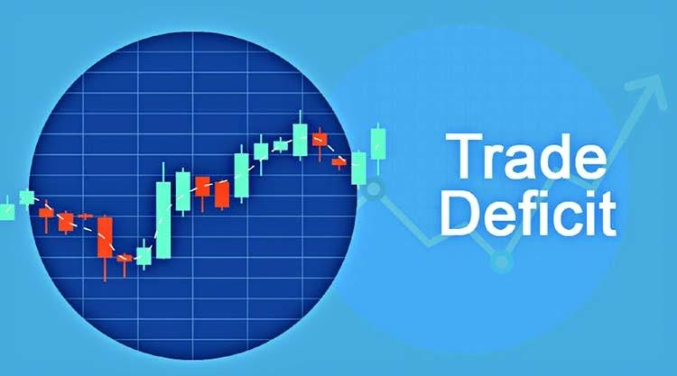 ما هو العجز التجاري - الميزان التجاري السلبي - تجاوز واردات بلد ما لصادراته - تواجد مبلغ سلبي صافٍ أو رصيد سلبي في حساب المعاملات الدولية