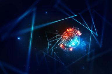 محاكاة البنية الكمومية البدائية للكون - تمثيل لأقصر اللحظات الكمومية بعد الانفجار العظيم الذي انطلق موسعًا المكان والزمان