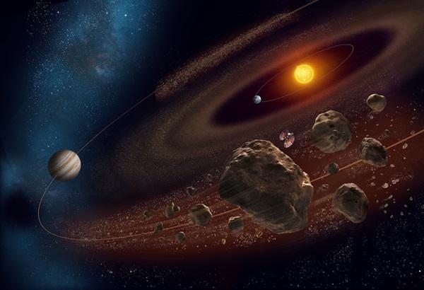 العثور على كويكب طروادة كامن في مدار الأرض