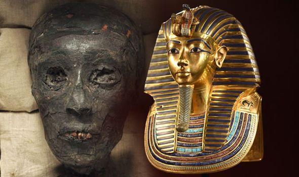 توت عنخ آمون: معلومات وحقائق - الملك توت عنخ آمون هو حفيد الفرعون العظيم أمنحتب الثالث - ابن أخناتون - أحد فراعنة الأسرة المصرية الثامنة عشر