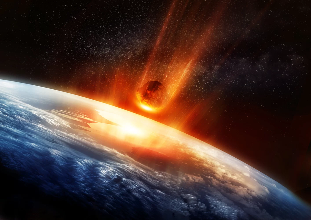 كم من الوقت أظلمت الأرض بسبب النيزك الذي قضى على الديناصورات؟