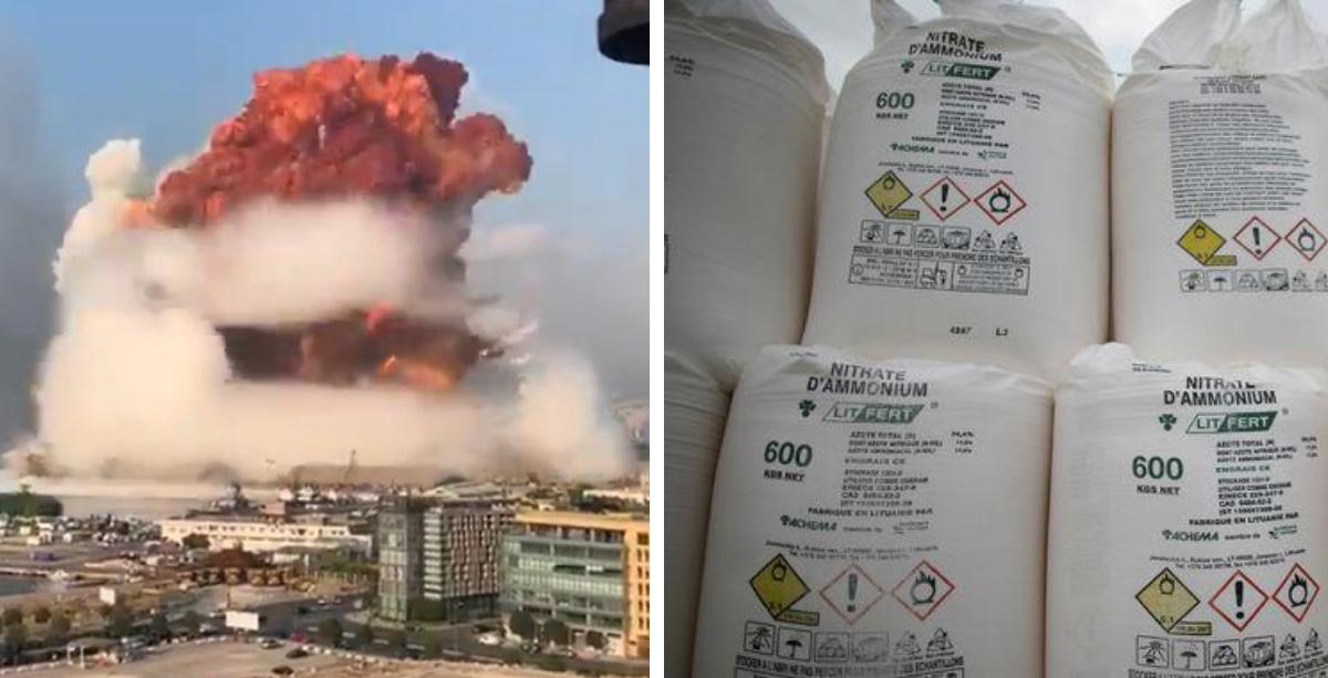 ما هي نترات الأمونيوم؟ ماذا تقول الكيمياء عن انفجار بيروت الضخم؟