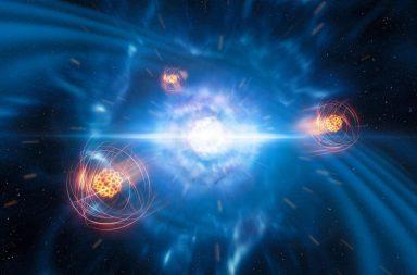 كيف تشكلت العناصر الثقيلة في الكون؟ - كيف اكتشف العلماء عنصر السترونتيوم في بقايا تصادم نجم ميت - ما هي النجوم النيوترونية وما مكوناتها