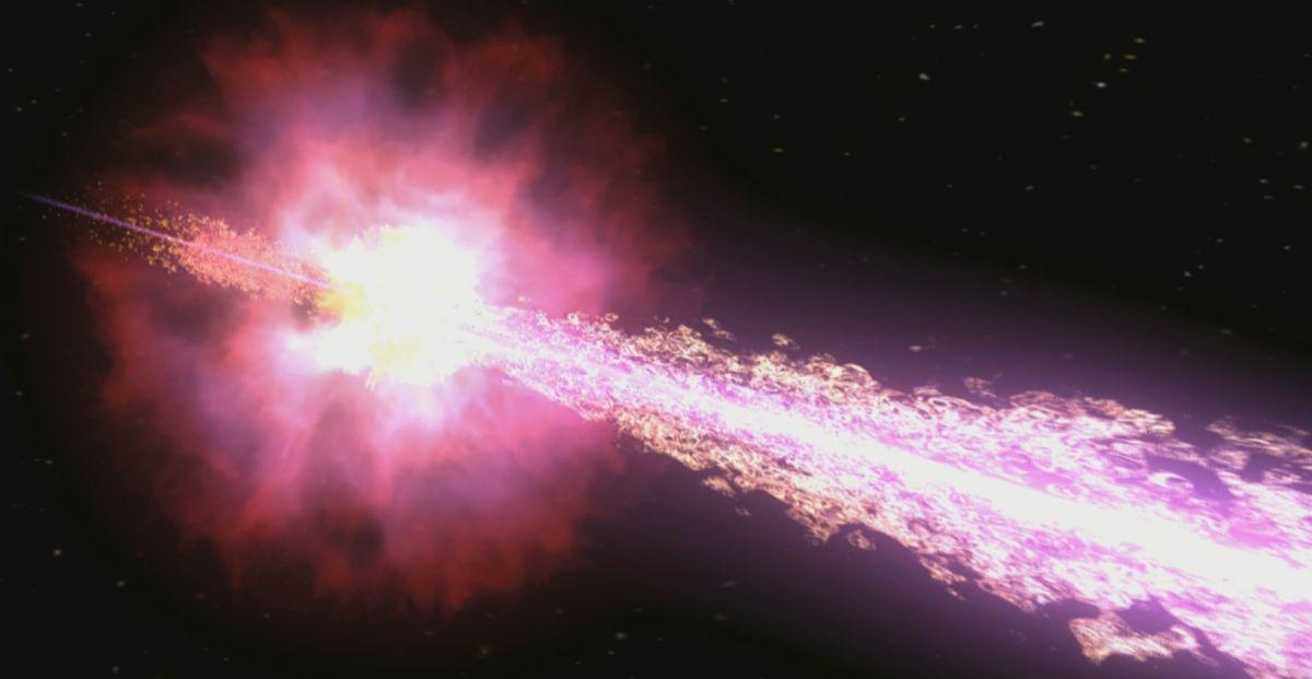 الانفجار الكوني الأعنف