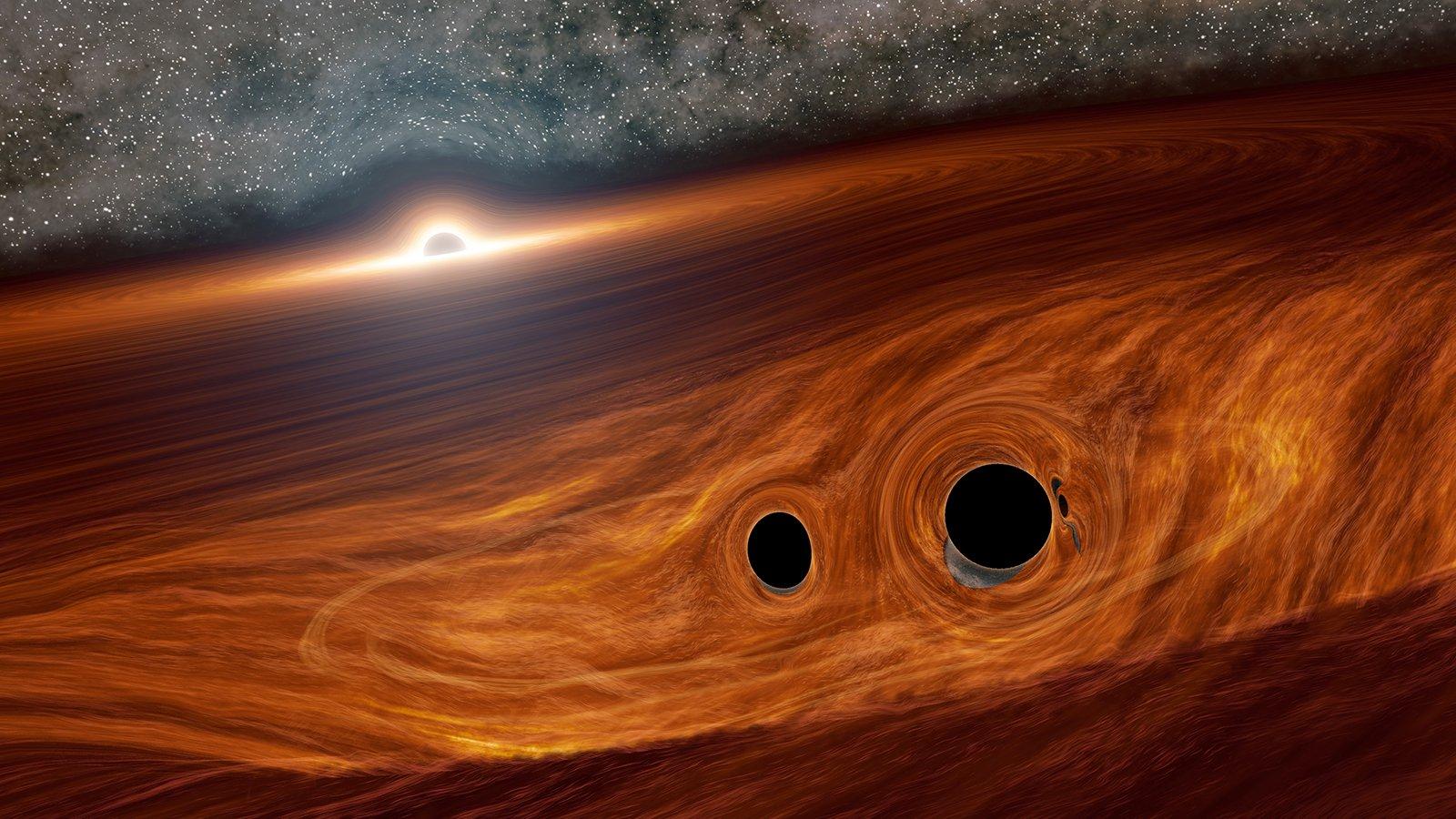 نقطة التفرد - ما أغرب الاحتمالات التي قد تحدث في مركز الثقب الأسود - نجم غرافاستار - قلب الثقوب السوداء - نجوم بلانك - دوران الثقوب السوداء