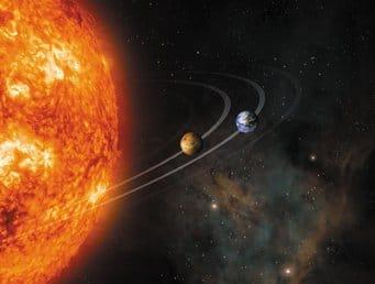 ستبتلع الشمس كل من الزهرة وعطارد بعد خمس مليار عام