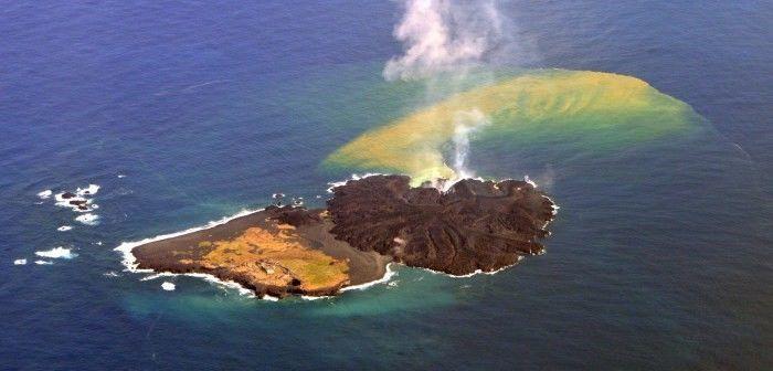 الجزر البركانية - كيف تتشكل الجزر البركانية ؟