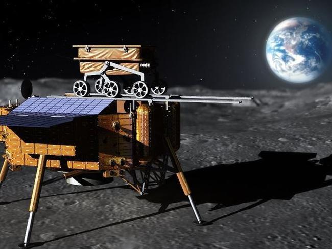 وجدت العربة القمرية الصينية صخورًا غريبة على الجانب الآخر من القمر