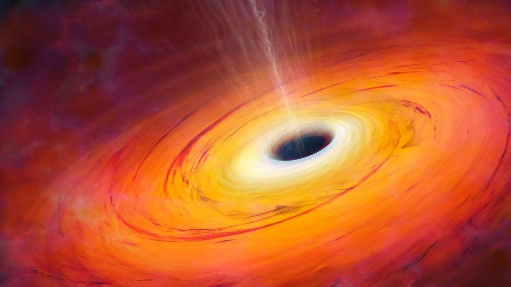 هل يمكن استخراج الطاقة من الثقوب السوداء؟