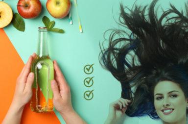 لماذا نستخدم خل التفاح للعناية بالشعر؟ وما هي كيفية استخدامه؟ هل تدعم الدراسات استخدام خل التفاخ للعناية بالشعر؟ الفوائد التي يقدمها خل التفاح للشعر