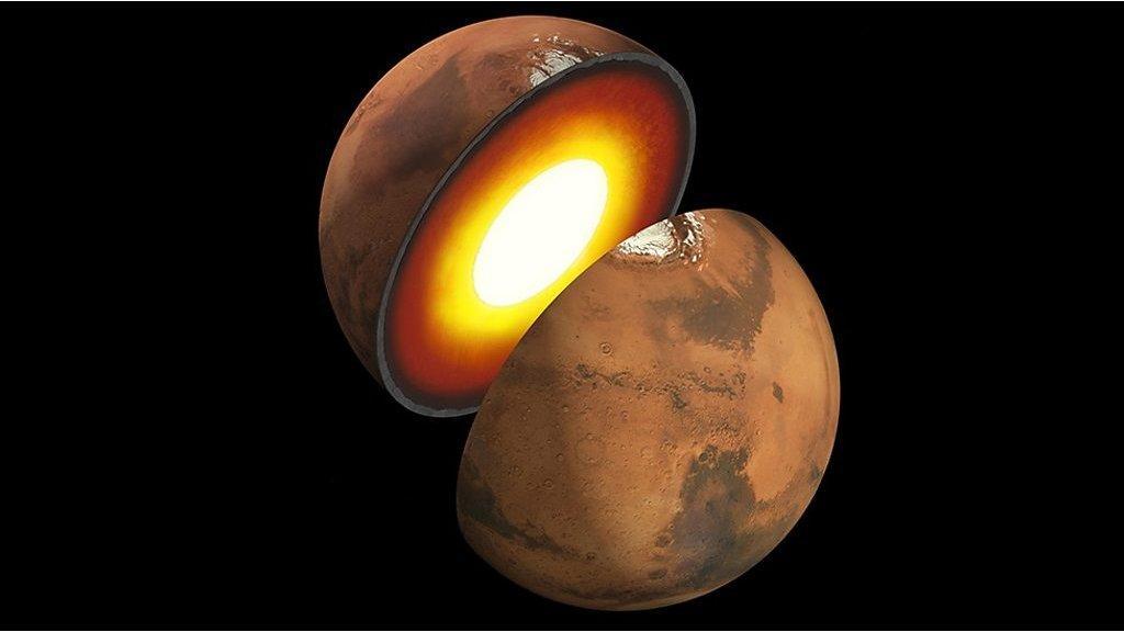 مسبار إنسايت التابع لناسا يحدد البنية الداخلية لكوكب المريخ