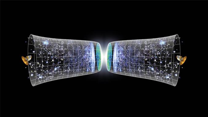 دراسة جديدة تشرح كيف قد يحدث الانهيار الكوني - نقطة التفرد - حل لغز الكون المبكر - نظرية تشرح كيفية تشكل الكون - الانسحاق العظيم