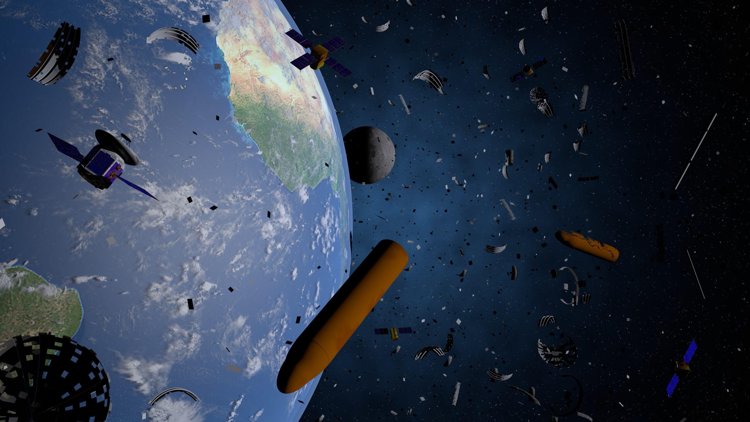 ما هي المخلفات الفضائية التي تحوم حول الأرض ولماذا يود العلماء استعادتها؟ ما هي المهمة التي أطلق القمر الصناعي بروسبيرو من أجلها؟