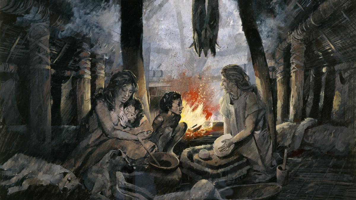 الحضارات التي انتشرت خلال فترة العصر البرونزي - العصر حين استُبدِلت بالأدوات والأسلحة الحجرية أدوات وأسلحة مصنوعة من البرونز