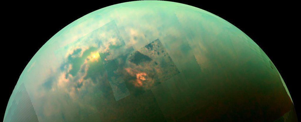 علماء الفلك قد وجدوا للتو دليلًا على ظاهرة طقس غريب على القمر تيتان