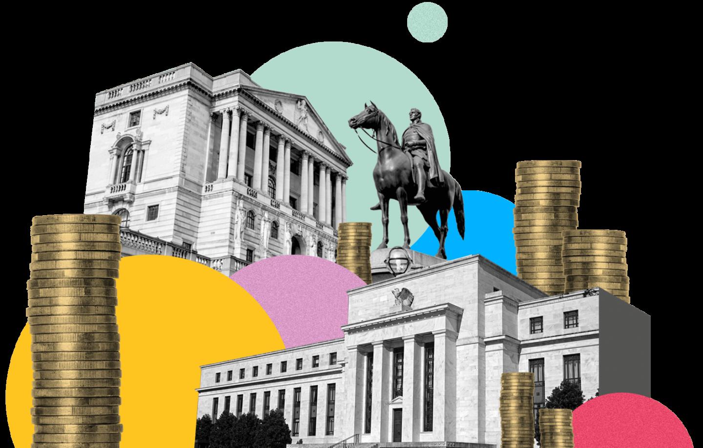 البنوك المركزية الرئيسية