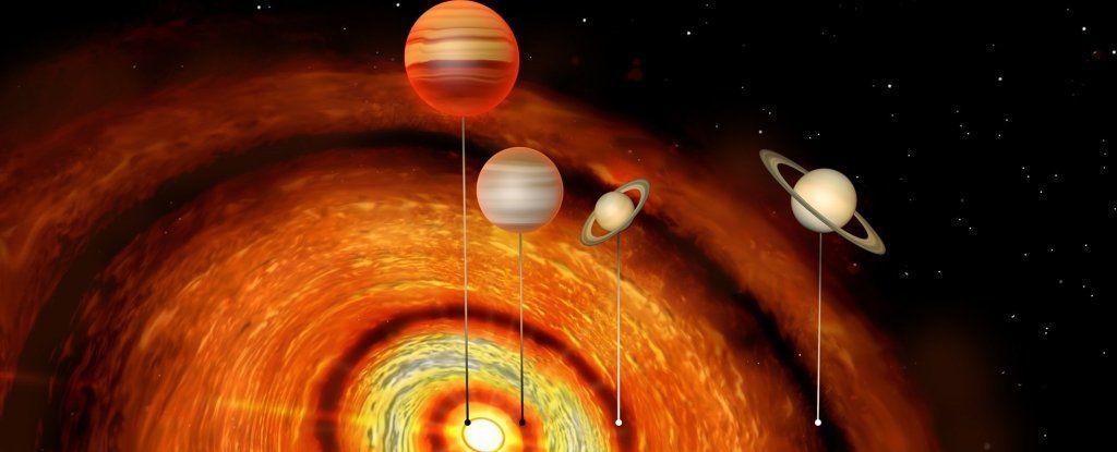 رصد كواكب عملاقة تدور بشكل خفي حول نجم صغير
