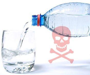 مخاطر عبوات المياه