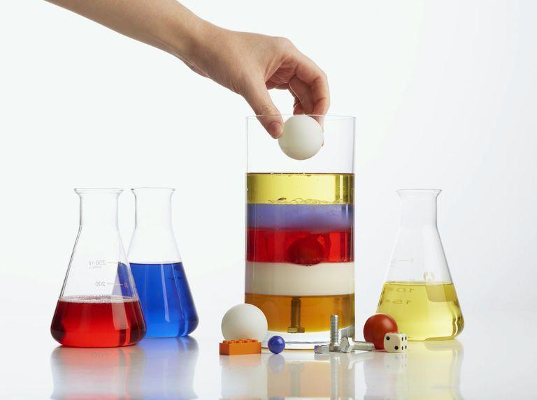 ما هي الكثافة من الناحية العلمية ؟