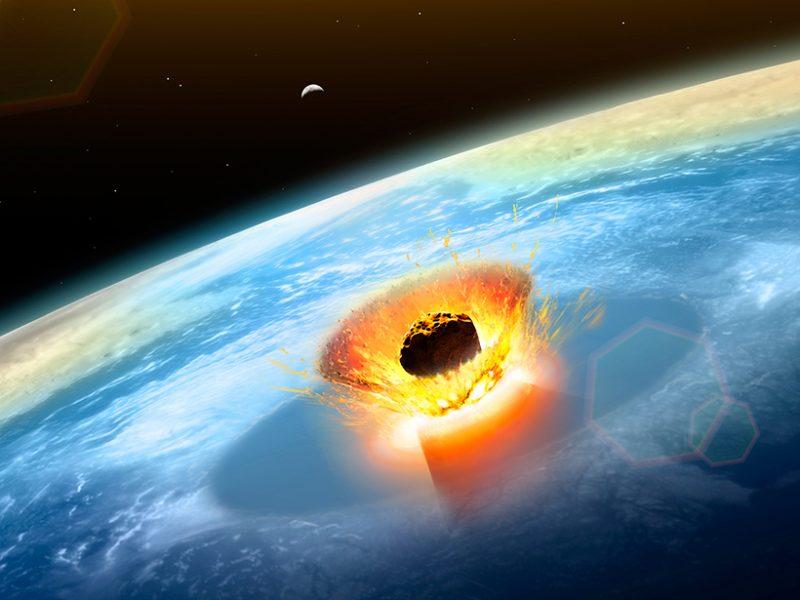 غبار من النيزك الذي أنهى عهد الديناصورات يحسم الجدل حول سبب انقراضها