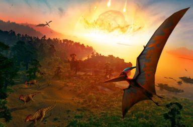 غبار الكويكب الذي أنهى سيادة الديناصورات يحل نظرية الانقراض العظيم - فوهة اصطدام تشيكسولوب الشهيرة في يوكاتان - نظرية الانقراض العظيم